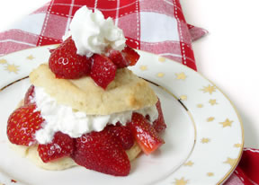 Strawberry Shortcake is served at 7:00 PM
