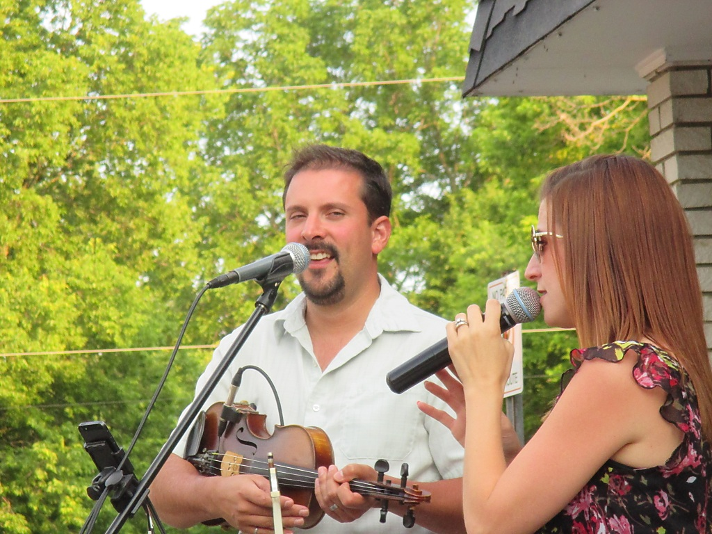 Ryan St Denis and Crystal Gage will be entertaining