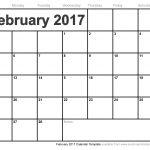 February 2017 Activity calendar